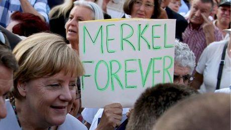 Thu tuong Duc Angela Merkel xac nhan tranh cu nhiem ky 4 - Anh 1