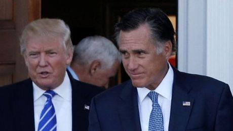 Ong Trump tinh bo nhiem Mitt Romney lam Ngoai truong My - Anh 1