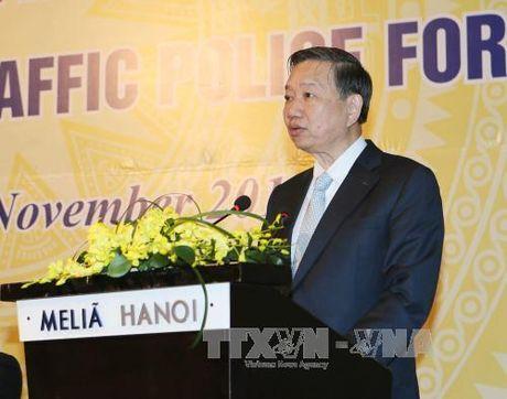 Khai mac Dien dan Canh sat Giao thong ASEAN lan thu nhat - Anh 1