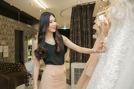 Dieu Ngoc di chon vay da hoi chuan bi thi Miss World - Anh 1