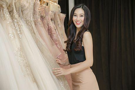 Dieu Ngoc di chon vay da hoi chuan bi thi Miss World - Anh 2