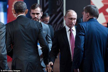 Obama va Putin trao nhau cai bat tay 'lanh nhat' nhat lich su - Anh 1