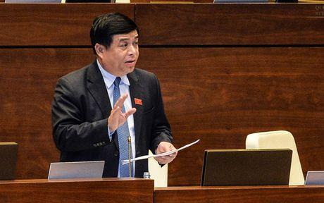 Bo truong Nguyen Chi Dung: 'Quy hoach bau troi rat kho' - Anh 1