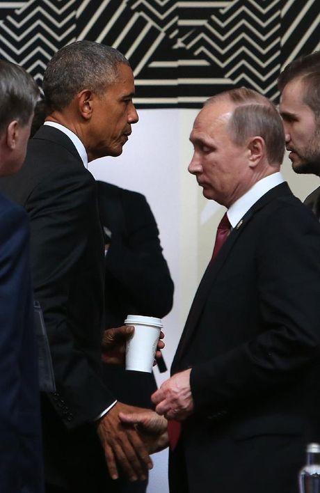 Cuoc gap mat 'lanh lung nhat' trong lich su cua Obama va Putin - Anh 2