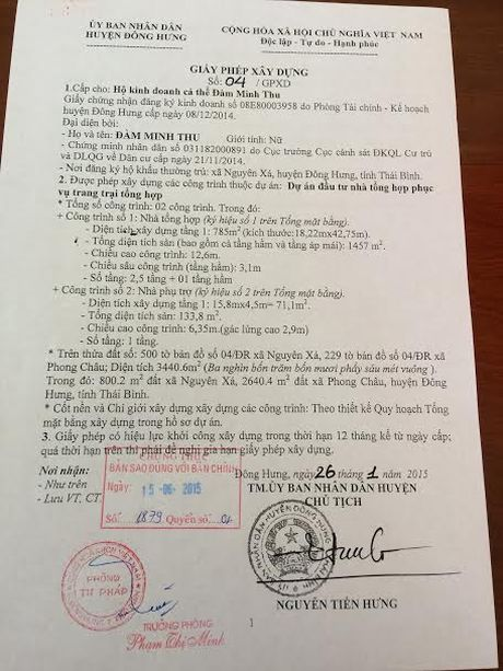 Thai Binh: Biet thu be the van ngang nhien ton tai tren dat kinh doanh phi nong nghiep - Anh 7