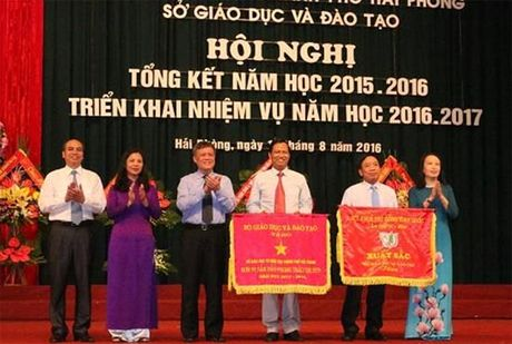 So GD&DT Hai Phong: Quyet tam doi moi can ban, toan dien GD&DT thanh pho - Anh 1