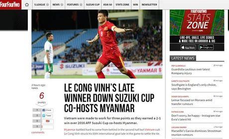 Bao chi nuoc ngoai khong ngot loi khen ngoi doi tuyen Viet Nam - Anh 1