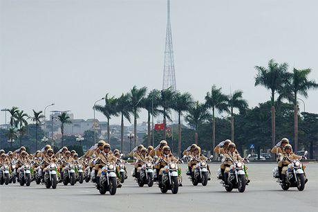 Vai tro cua luc luong CSGT Viet Nam trong hoi nhap quoc te ve giao thong van tai - Anh 1