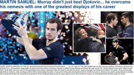 Federer & bao chi nga mu truoc nguoi hung Murray - Anh 5