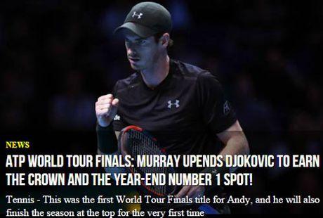 Federer & bao chi nga mu truoc nguoi hung Murray - Anh 6