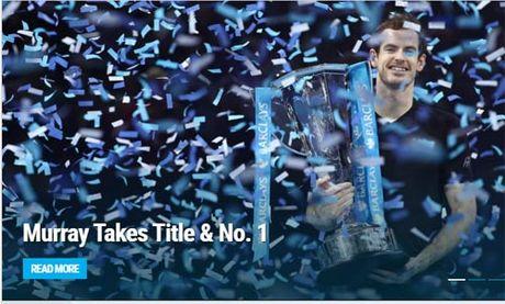 Federer & bao chi nga mu truoc nguoi hung Murray - Anh 7