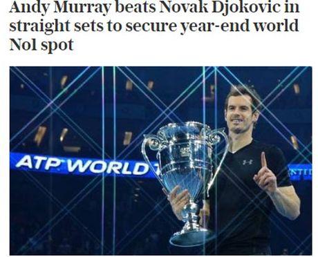 Federer & bao chi nga mu truoc nguoi hung Murray - Anh 8