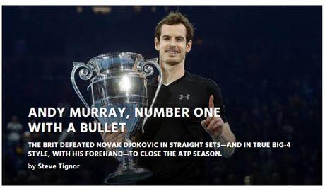 Federer & bao chi nga mu truoc nguoi hung Murray - Anh 9
