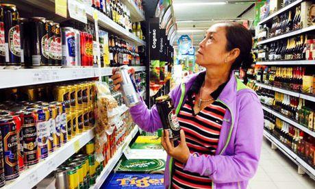 Nguoi TPHCM co the uong 40 trieu lit bia dip Tet - Anh 1