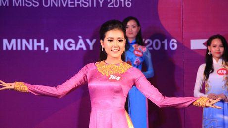 10 thi sinh phia Nam vao cuoc thi 'Nu sinh vien Viet Nam duyen dang nam 2016' - Anh 1