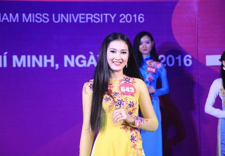 10 thi sinh phia Nam vao cuoc thi 'Nu sinh vien Viet Nam duyen dang nam 2016' - Anh 3