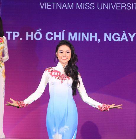 10 thi sinh phia Nam vao cuoc thi 'Nu sinh vien Viet Nam duyen dang nam 2016' - Anh 7