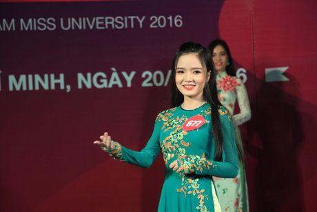 10 thi sinh phia Nam vao cuoc thi 'Nu sinh vien Viet Nam duyen dang nam 2016' - Anh 8