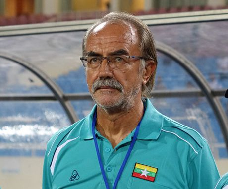 HLV Myanmar khong bat ngo vi thua Viet Nam - Anh 1