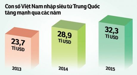 Nhap khau 40 ti USD tu Trung Quoc 10 thang dau nam: Dung noi Viet Nam khong can TPP - Anh 1
