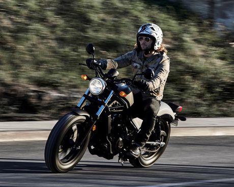 Honda Rebel 2017 – Cruiser danh cho moi tay lai - Anh 6