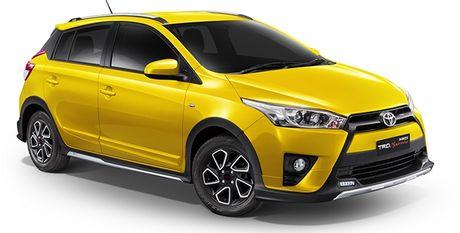 Toyota Yaris TRD Sportivo ra mat tai Thai Lan - Anh 1