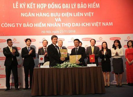 LienVietPostBank va Dai-ichi Life hop tac kinh doanh bao hiem - Anh 1