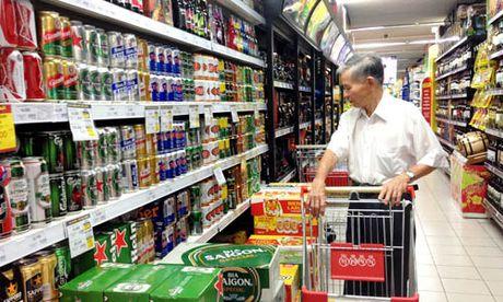 Tet Dinh Dau: Du bao nguoi Sai Gon uong 40 trieu lit bia - Anh 1