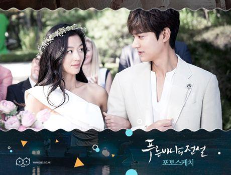 Jun Ji Hyun va Lee Min Ho dung dau trong cac tu khoa tim kiem tren mang Han - Anh 1