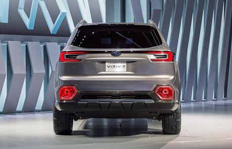 Subaru Viziv-7 - SUV moi canh tranh Ford Explorer - Anh 3