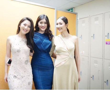 Huynh Tien xinh dep, than thiet ben tai tu TVB Tran Hao - Anh 11
