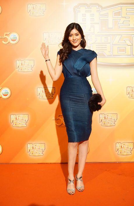 Huynh Tien xinh dep, than thiet ben tai tu TVB Tran Hao - Anh 1