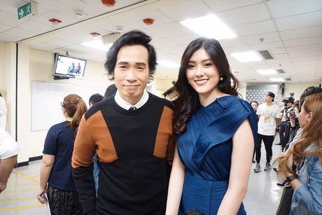Huynh Tien xinh dep, than thiet ben tai tu TVB Tran Hao - Anh 3