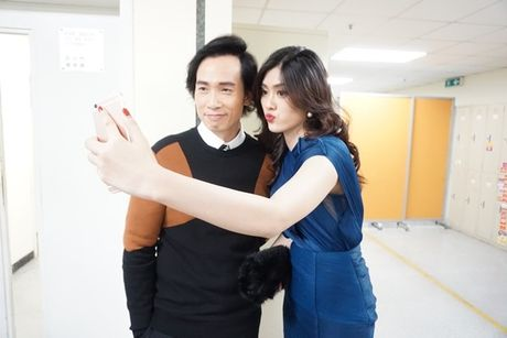 Huynh Tien xinh dep, than thiet ben tai tu TVB Tran Hao - Anh 4