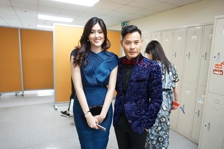 Huynh Tien xinh dep, than thiet ben tai tu TVB Tran Hao - Anh 8