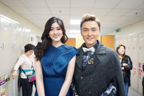 Huynh Tien xinh dep, than thiet ben tai tu TVB Tran Hao - Anh 9