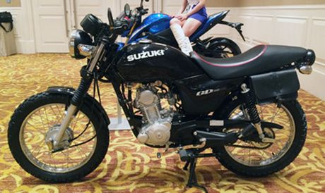 Xe do Suzuki GD110 o Sai Gon - Anh 1