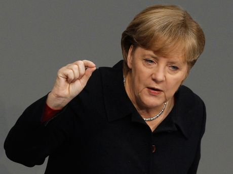 Ba Merkel chinh thuc tuyen bo tranh cu thu tuong Duc nhiem ky 4 - Anh 1