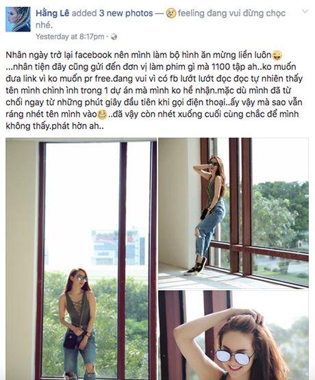 Minh Hang buc xuc, khang dinh khong tham gia 'Ho so lua' - Anh 2