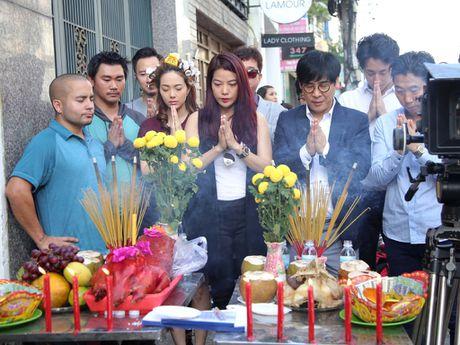 Minh Hang buc xuc, khang dinh khong tham gia 'Ho so lua' - Anh 3