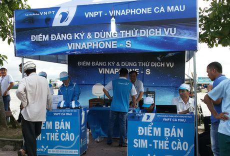 Trien khai dich vu di dong ve tinh Vinaphone-S tai Ca Mau - Anh 1