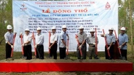 Dong tho xay dung Tram bien ap 500kV Viet Tri - Anh 1