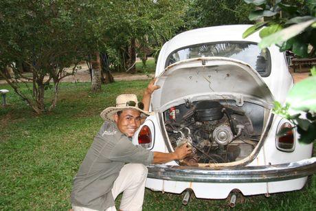 Den cu lao Phuoc Thien ngam xe co doc la - Anh 10