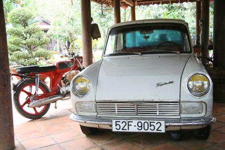 Den cu lao Phuoc Thien ngam xe co doc la - Anh 5