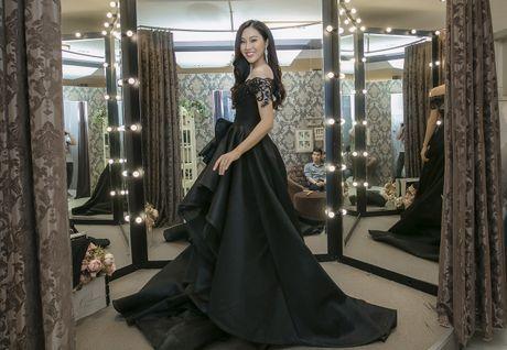 Dieu Ngoc thu trang phuc truoc ngay sang My thi Miss World - Anh 3