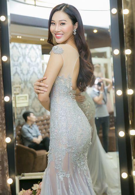 Dieu Ngoc thu trang phuc truoc ngay sang My thi Miss World - Anh 6