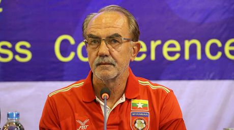 HLV Myanmar tin doi nha van gianh ve vao ban ket - Anh 1