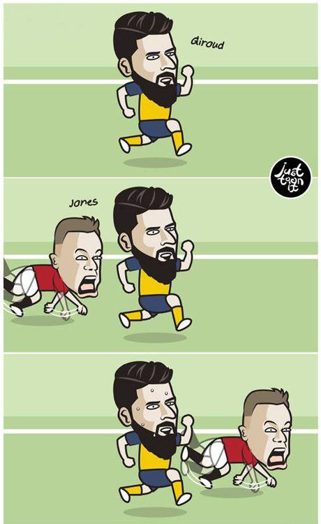 Biem hoa Mourinho va Wenger tu hai lan nhau - Anh 4