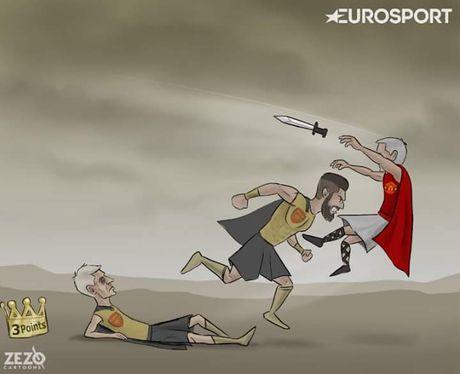 Biem hoa Mourinho va Wenger tu hai lan nhau - Anh 5