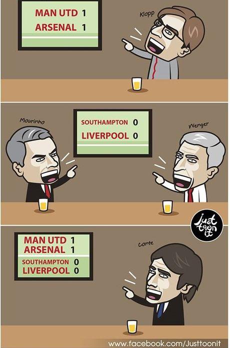 Biem hoa Mourinho va Wenger tu hai lan nhau - Anh 7